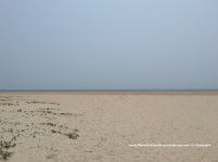 The Pristine white sand Utorda beach