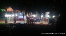 Balton's Shack at the night