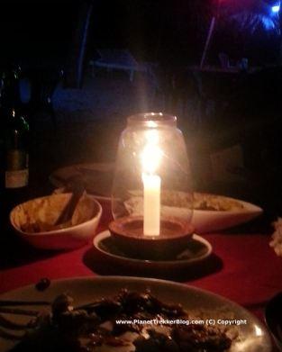 Balton's Shack - Candle light dinner