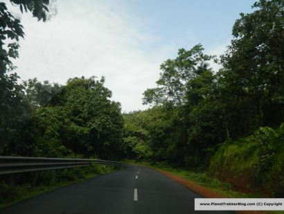 Goan road are very well maintained through the year