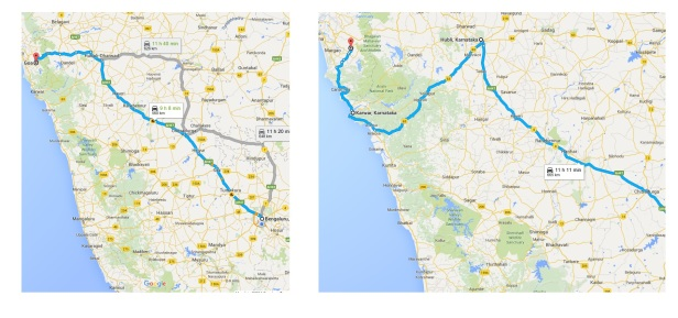 Best Route From Bangalore To Goa By Car
