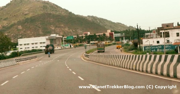 Another shot of NH7 - excellent road conditions