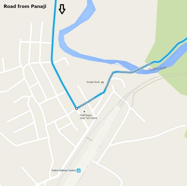 Kulem Railway station - Enroute to Dudhsagar falls.JPG