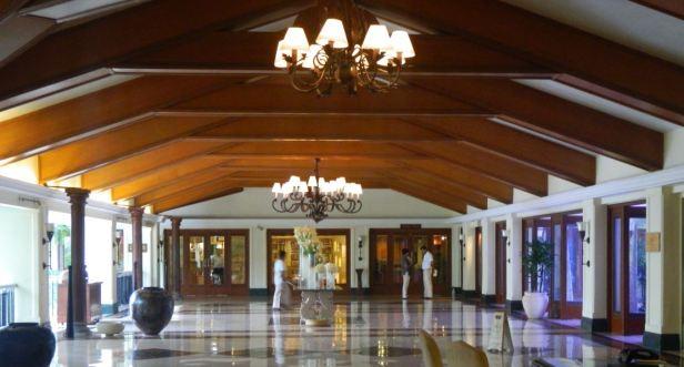 Lobby of Taj Exotica