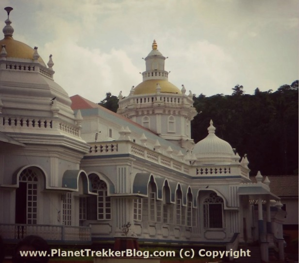 Mangeshi Temple Side view