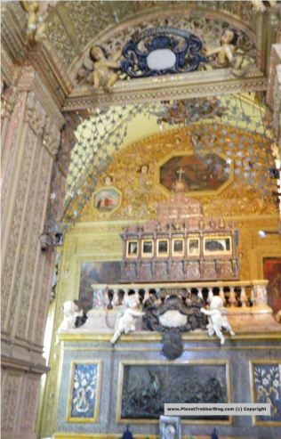 Tomb of St Francis Xavier