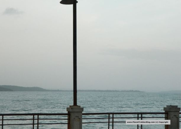 View of the Arabian Sea from the Jetty