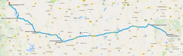 Bangalore to Chikmagalur