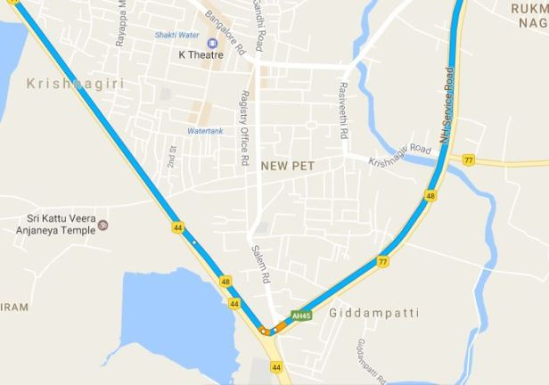 bangalore-to-pondicherry-map-1