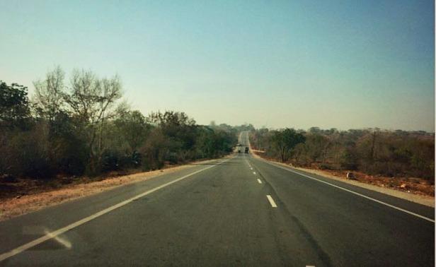 Nanjanagudu to Bandipur highway.